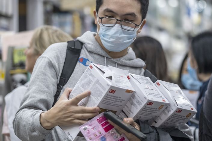 Cranks Amid Production Virus Face-mask Wuhan Up 3m Outbreak