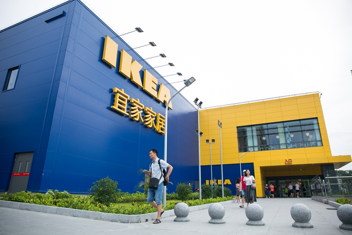 An IKEA store in Guangzhou city, south China's Guangdong province, on July 15, 2019. Photo: VCG