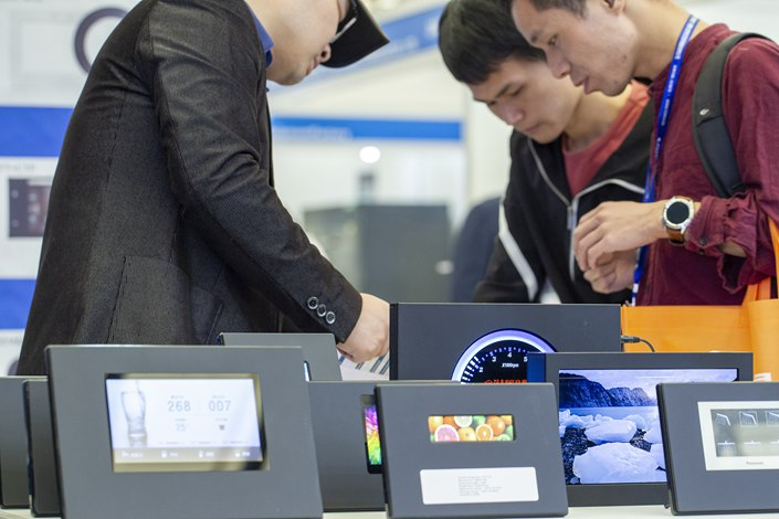 AVC Revo predicted China's display panel production will decline 10% in February owing to disruptions from the coronavirus. Photo: VCG