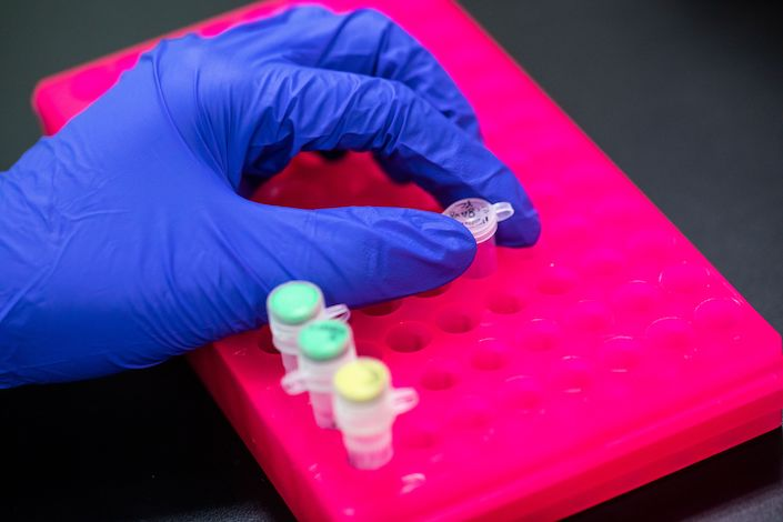 Gilead Sciences filed patent applications for remdesivir in China years before a competing patent by a Chinese research institute. Photo: Bloomberg