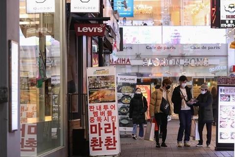 韩国单日新增确诊达571例 军队停止一切野外训练