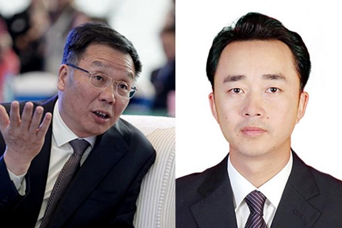 Li Baofang (left) and Gao Weidong.
