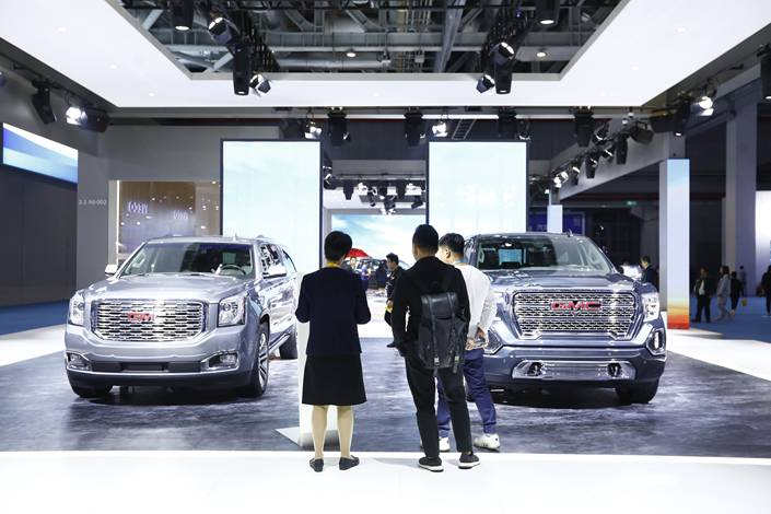 The coronavirus outbreak has squeezed China's already troubled car industry on both the demand and supply sides. Photo: IC Photo
