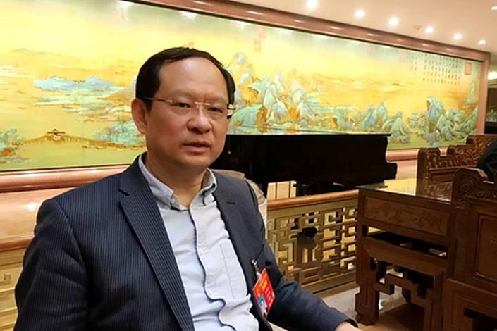 Wang Jingwu, head of the Financial Stability Bureau of the People's Bank of China.