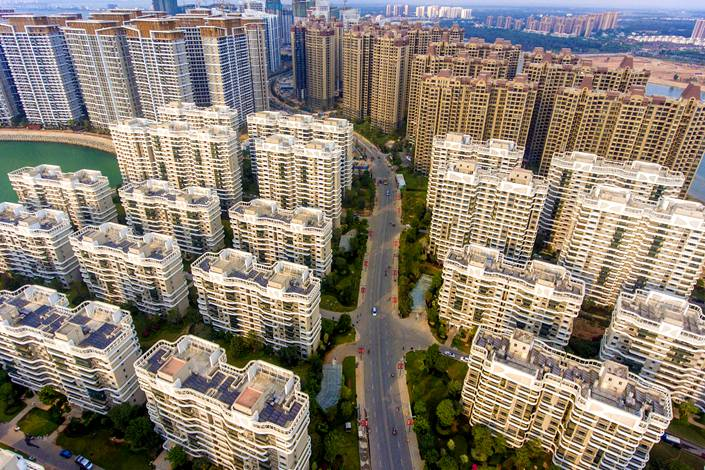 """""""Pre-sales,"""" in which developers sell homes in residential complexes before they are completed, have been commonplace in China's property industry for more than two decades. Photo: VCG"""