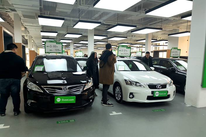 Online Used Car Platforms In Crisis As Virus Drives Off Business Caixin Global