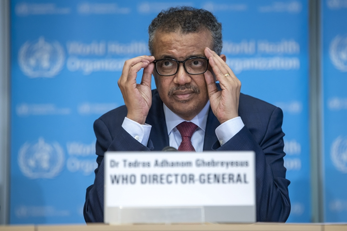 "Tedros said the number of cases, deaths and nations affected were likely to climb in the days and weeks ahead — due to a lack of capacity and resources in some nations, and in others, a ""lack of resolve."" Photo: IC Photo"