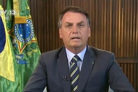 巴西总统称自己新冠检测呈阴性 上周才见特朗普引关注