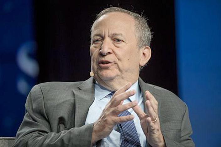 Former U.S. Treasury Secretary Larry Summers.