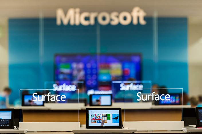 Industry watchers say Microsoft and Google are better positioned to shift production away from China than companies like Apple and HP. Photo: IC Photo