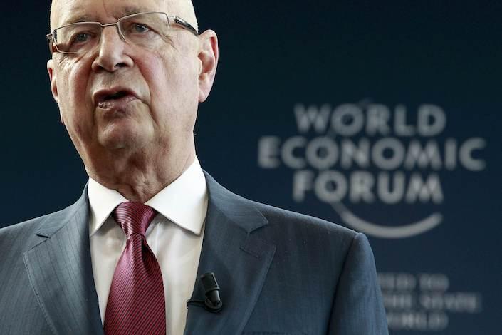 World Economic Forum Executive Chairman and founder Klaus Schwab. Photo: VCG