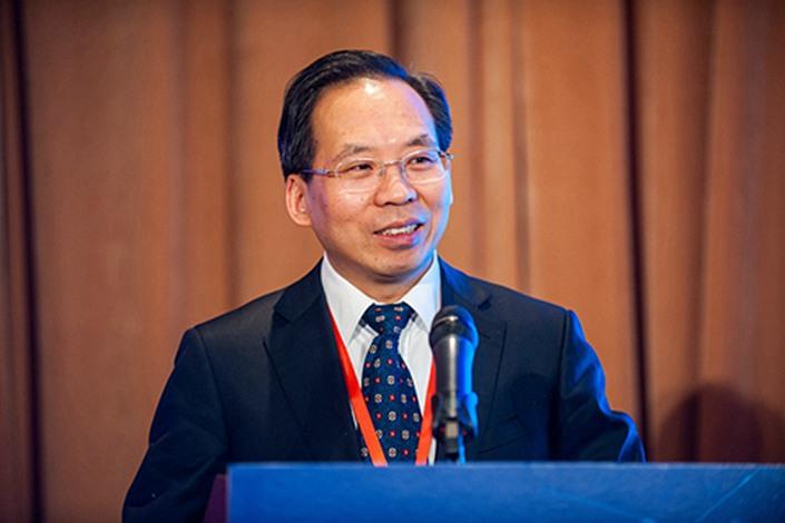 Liu Shangxi, an adviser to China's finance ministry. Photo: VCG