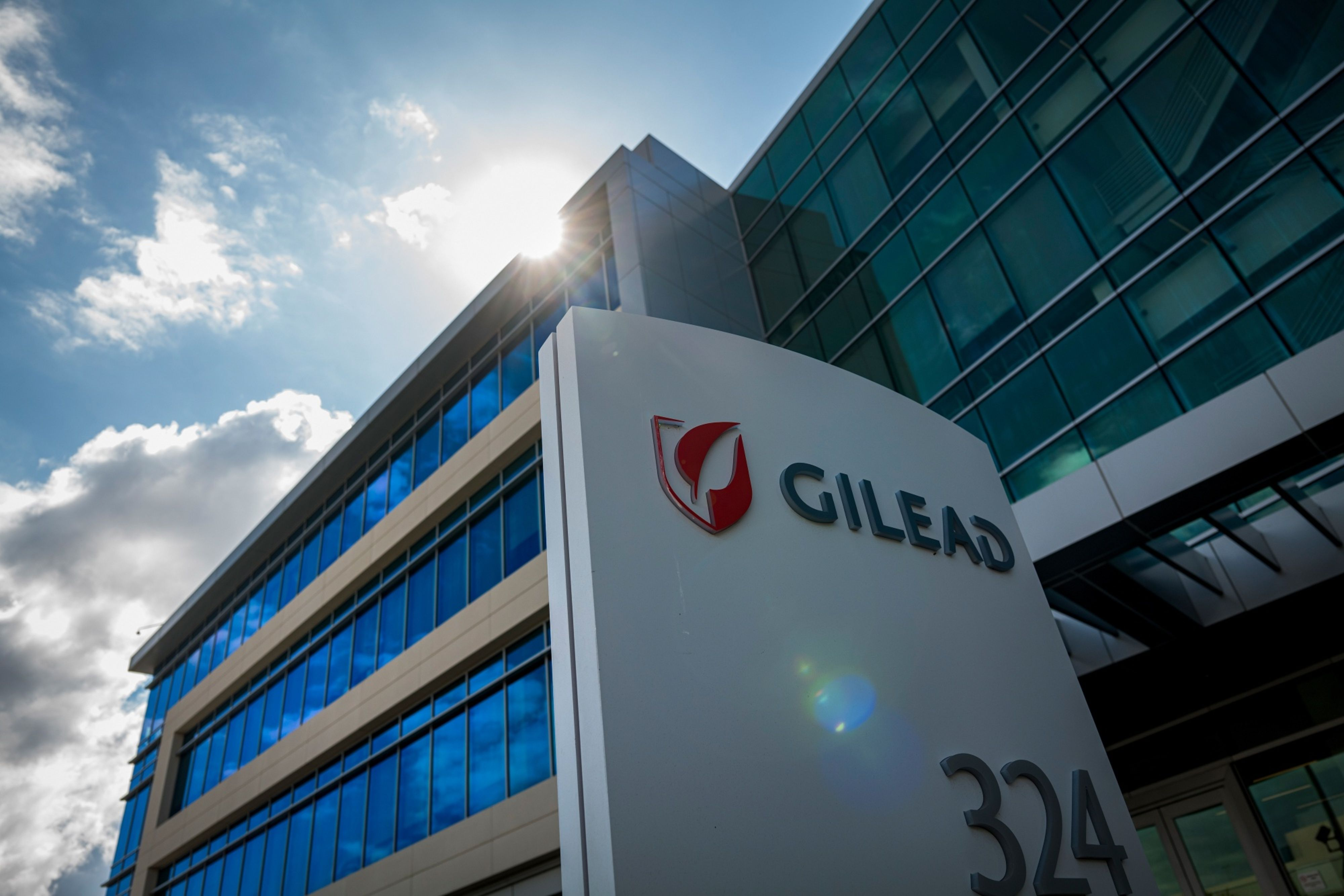 Gilead Sciences' headquarters in Foster City, California. Photo: Bloomberg