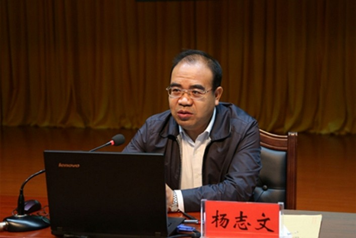 Yang Zhiwen, vice governor of Qinghai province.