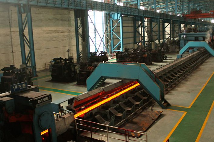 Baowu operates this steel mill in Guangdong Province, China. Photo: Nikkei