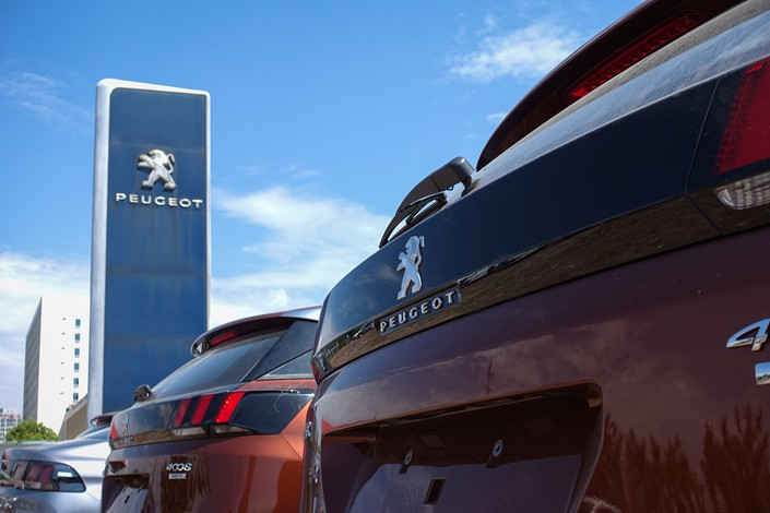 The Dongfeng Peugeot joint venture sold just 11,607 cars in the first four months of the year, down more than 70% from a year earlier.