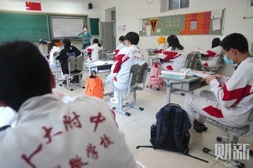 北京备战开学潮 高三初三复课首日超200人发热非新冠