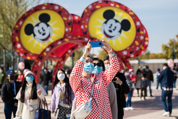 Shanghai Disneyland has reopened after shutting down for months amid the pandemic. Visitors can now enter the theme park with pre-booked tickets and QR codes verifying their health status.