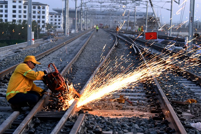 Investment in railway infrastructure has long been dominated by state-owned conglomerates like China Railway, given their scale and the time investors must wait for a return.