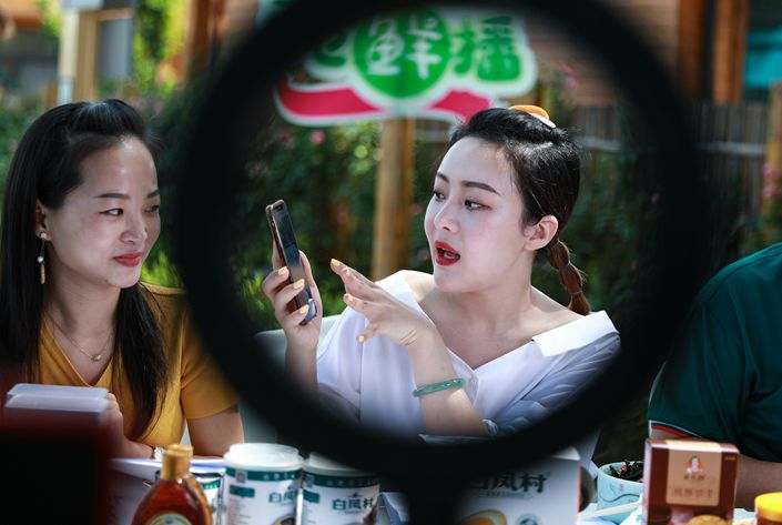 The livestreaming e-commerce sector was worth 433.8 billion yuan last year, according to a March report from the China Consumers Association.