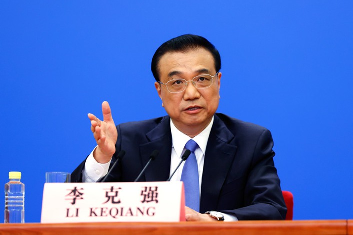 Premier Li Keqiang. Photo: Xinhua