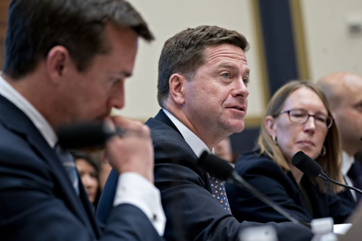 U.S. Securities and Exchange Commission Chairman Jay Clayton. Photo: Bloomberg