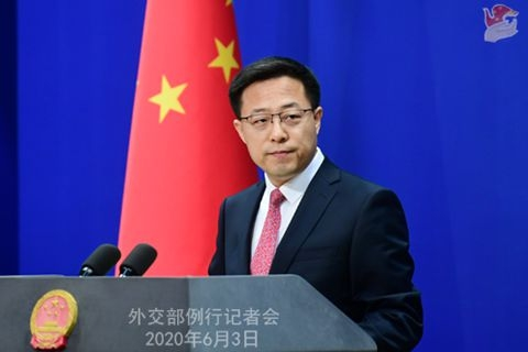 外交部:奉劝英方悬崖勒马 认清并敬重香港已回归的现实