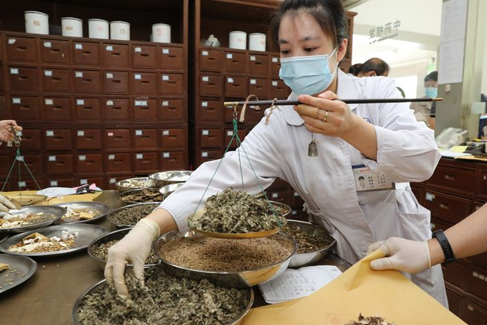 Although TCM is widely available in Chinese hospitals, its critics say its practices have little basis in science, are unsupported by clinical trials, and can be harmful to health.