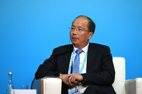 Yi Huiman, chairman of the China Securities Regulatory Commission.