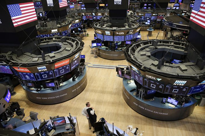 The New York Stock Exchange on March 20.