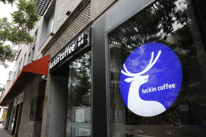 Luckin was once a rising star in China as it attempted to challenge Starbucks.