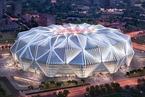 广州恒大足球场修改设计方案 莲花元素大幅弱化