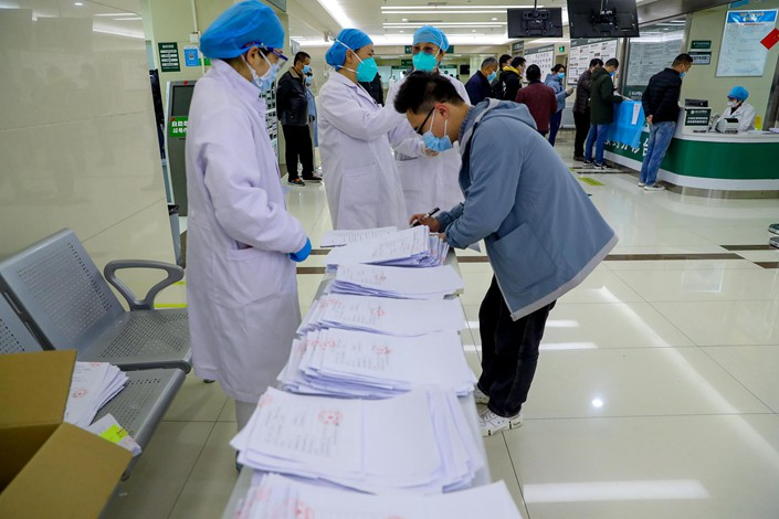 Guidelines issued Tuesday by Hubei province aim to create new posts for senior public health experts and give more power to local centers for disease control and prevention.