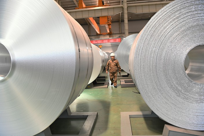 Tianshan Aluminum has an annual production capacity of 1.2 million tons of electrolytic aluminum.