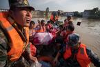 洪水直击|固镇镇水灾救援吃紧 受灾人口达4.1万(更新)