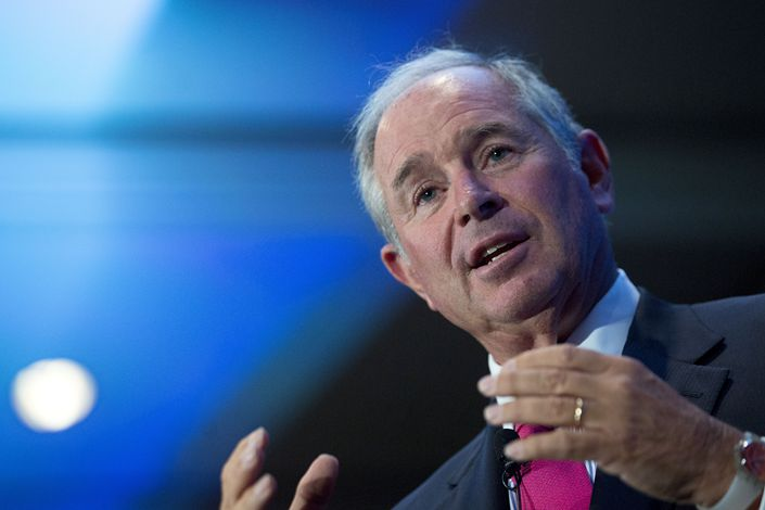 Stephen Schwarzman, chairman and CEO of Blackstone.