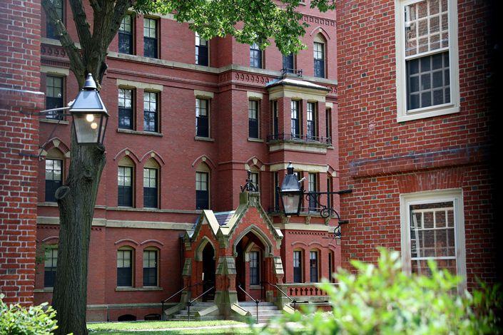 Harvard University in the U.S. on July 8.