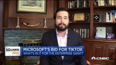 【华尔街原声】微软收购TikTok将如何获益?