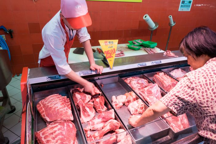 China's Consumer Inflation Edges Up Amid Faster-Rising Food Prices