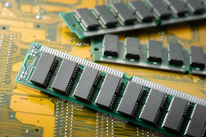 China made a major breakthrough in its quest to become more self-reliant in the semiconductor industry when ChangXin's DRAM chips reached the market. Photo: IC Photo