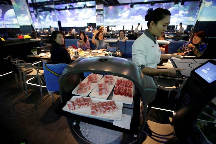 Haidilao operated 935 restaurants around the world by the end of the second quarter