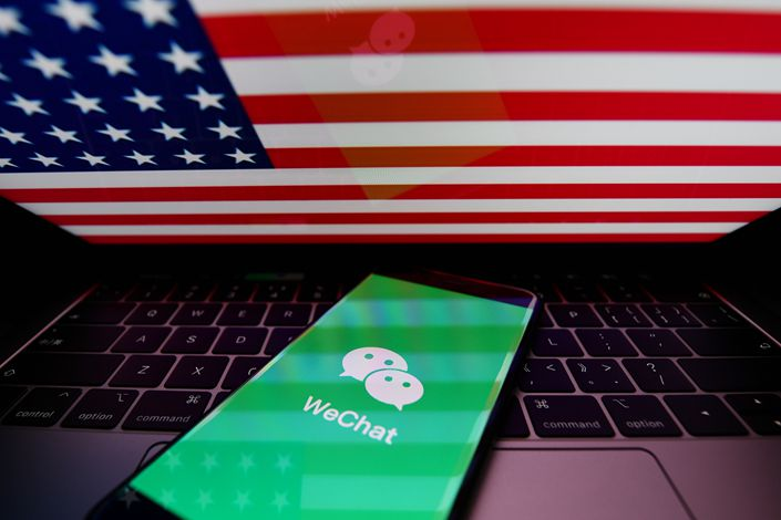 Eighty-eight percent of surveyed  U.S. firms in China said losing the use of WeChat as a communication tool would hurt business.