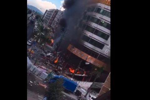 珠海一酒店附近发生煤气爆炸 3人受伤-第1张图片