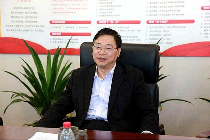 Zhu Huimin, former head of the Shenzhen branch of China Everbright Bank.