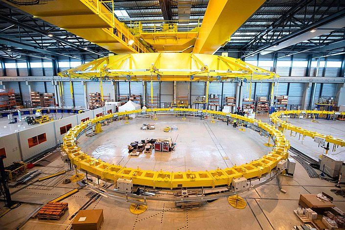 The International Thermonuclear Fusion Experimental Reactor (ITER) started assembly work in France on July 28.