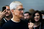 苹果CEO库克新获股权激励 到2025年最多可拿1.14亿美元