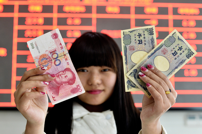 For July alone, the latest month available, China snapped up 723.9 billion yen, the biggest monthly total since January 2017.