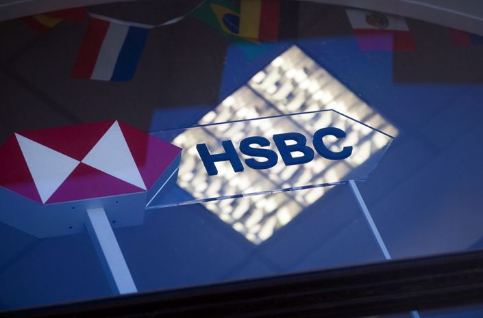 London-based HSBC had been on every list of banks arranging sale of the sovereign debt since the country resumed doing big deals three years ago. Photo: Bloomberg