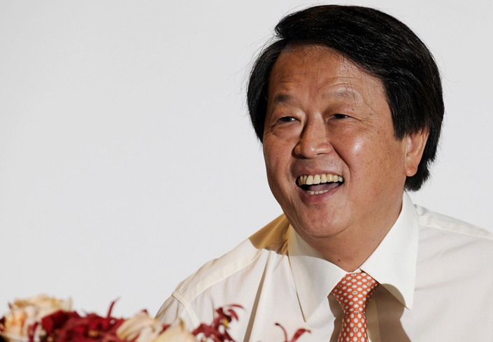 Kuok Khoon Hong, chairman and CEO of Yihai Kerry Arawana parent Wilmar International, laughs during a news conference in Singapore in August 2010.  Photo: Bloomberg