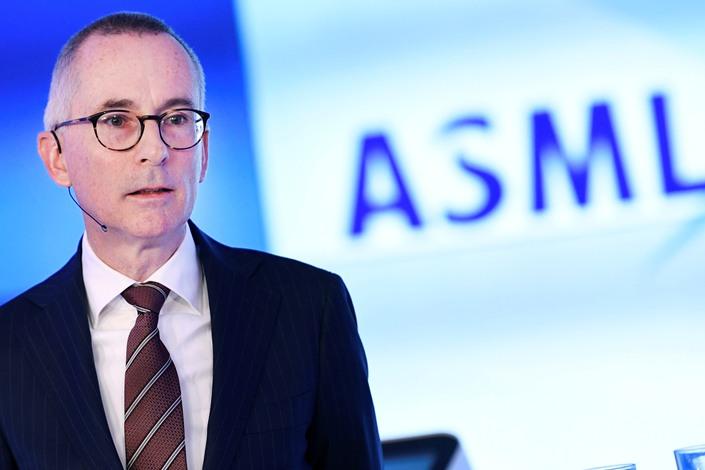 ASML CFO Roger Dassen.